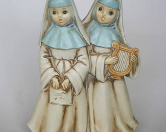vintage josef original nun music box