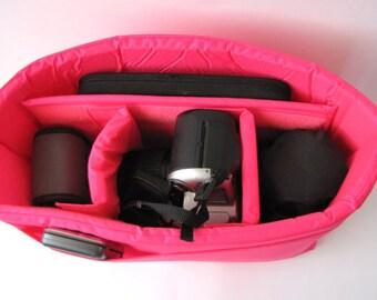 PreOrder Camera Bag Insert  - Adjustable Divider - Custom Sizes & Color