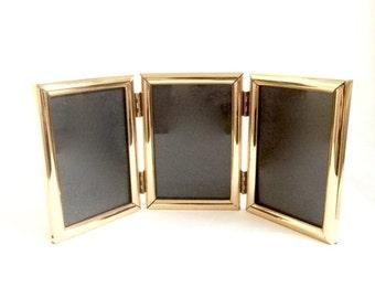 Tri Fold Frame Etsy
