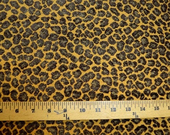 Spots Cheetah Golding Fabric