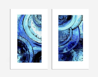 Giclee HAND SIGNED PRINT set of Two
