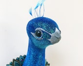 Peacock Faux Taxidermy