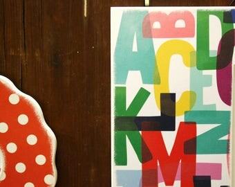 Orange Polka Dot Wood Flower Frame, Handmade, Sienna, picture frame, wall mount photo frame, Kids Room Decor home, Modern Home Decor