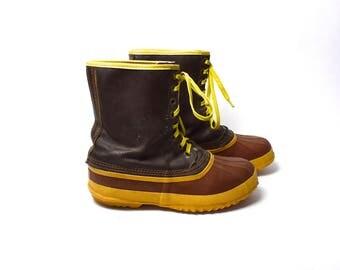 Original 1964 Sorel Kaufman All Weather Boots, Made in Canada, Sorel Arctic Pac