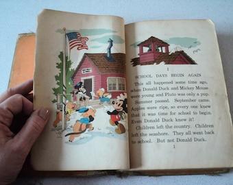 1930s School Days in Disneyville Walt Disney Characters D. C. Heath 1939
