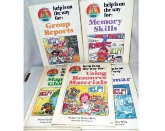 Help Is On The Way - Vintage Books for Children - Learning Books