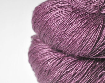 Magnolia lost in time  - Tussah Silk Fingering Yarn