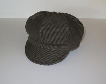 Baby Hat/ Corduroy Baby Hats/ Corduroy Newsboy for Baby/ Baby Hats