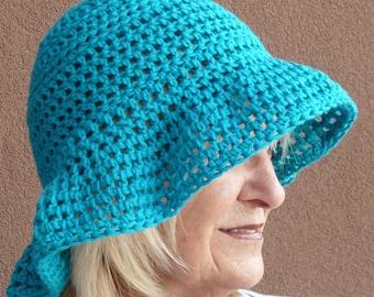 Summer Crochet Women's Hat Brimmed Bohemian Hat Sun Hat Women's Fashion