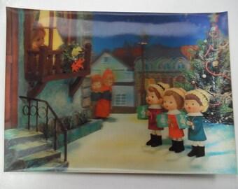 vintage postcards, old Christmas postcards, vintage Christmas postcards, 3d postcards