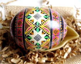 Pink Pysanka Easter egg your mom would love it so much order it with her name on it no extra cost ready in days made in Toronto