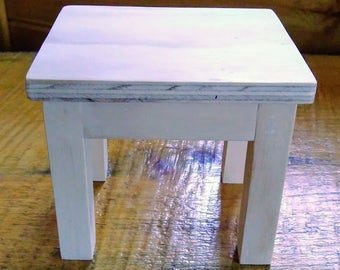 Handmade End Table for 18 inch Doll