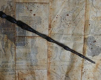 Replica  The Elder Wand Harry Poter Black Wand Hogwarts Harry Poter Accesories