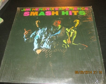 Jimi Hendrix Mint Still in Shrink wow Vinyl - Experience Smash Hits - Lp in MInt Condition