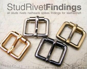 4pcs 20mm (inside) ZINC belt buckles purse finding for straps / High Quality