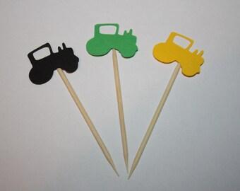 24 mini food picks -  Tractor