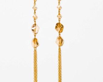 0064-Golden Shadow Crystal Chandeliers