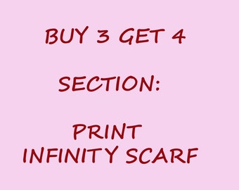 Summer infinity scarves buy 3 get the 4 th one free Christmas gift holiday gift coworkers gift for her
