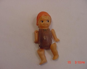 Vintage Miniature Celluloid Doll  17 - 498