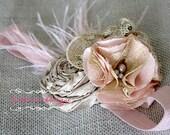 Baby headband, Newborn headband, Rose gold headband, Pink newborn headband, gold headband, girls headband, birthday girl headband