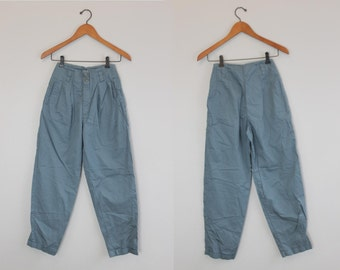 Vintage High Rise Blue Pant By Calvin Klein Sport