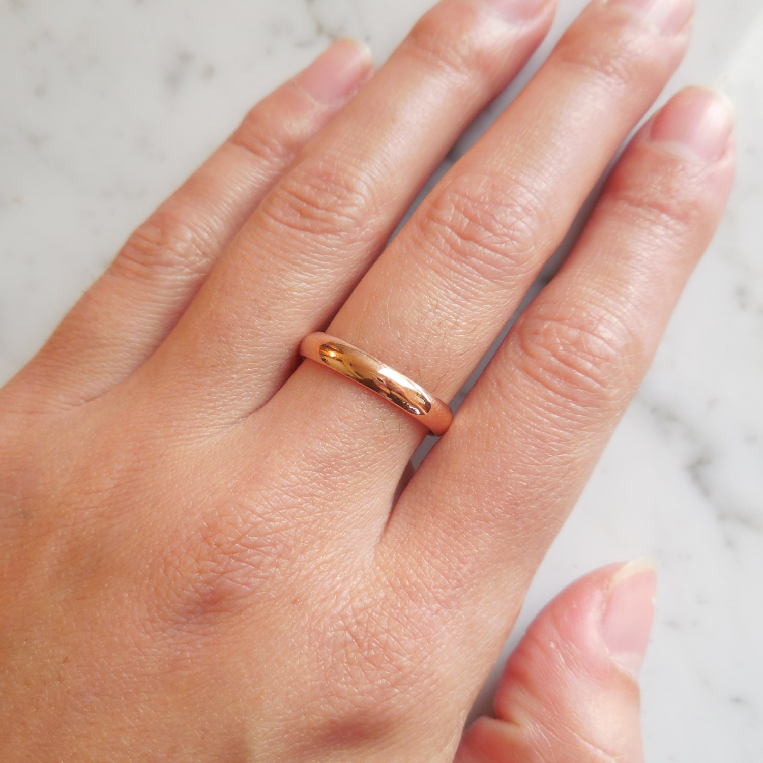 slim rbnp wedding diana gold thin narrow yellow bands jewellery ring products band contemporary porter plain