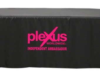 Plexus Worldwide Tablecloth - Plexus Slim - Vendor Event Table Cover - Compliance Approved