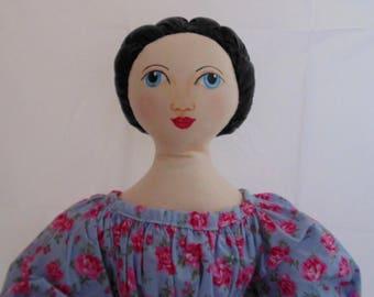 Primitive antique style doll