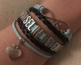 Damsel in Defense Bracelet