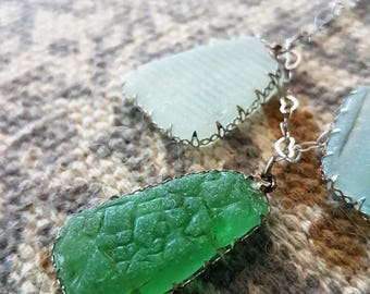 Alta Marea collection glass collection.Sea glass from the meditarranean sea.