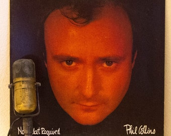 """ON SALE Phil Collins (Genesis) Vinyl Record Album 1980s Light Rock Pop """"No Jacket Required""""(1985 Rca Record Club LP w/""""Sussudio"""" & """"One More"""