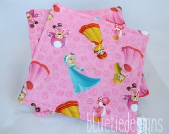 Super Mario Princesses Potholders
