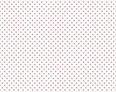 Red Polka Dot Fabric - Riley Blake Swiss Dot Fabric - Red Dot Fabric - Red Swiss Dot Fabric By The 1/2 Yard