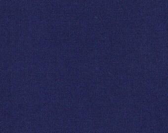 Moda Bella Solid Royal Blue Fabric - Dark Blue Solid Quilting Fabric - Moda Bella Royal Blue Fabric By The 1/2 Yard