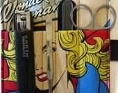 Wonder Woman grooming kit bag