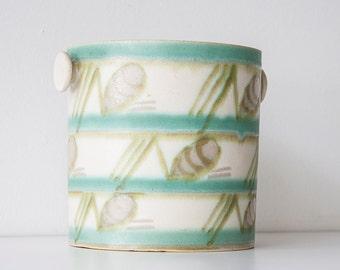 Vintage Mid Century Erphila Germany Pottery - Ice Bucket - Planter