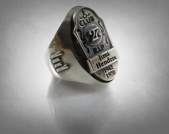 music Sterling Silver 925 Forever Club 27  Ring