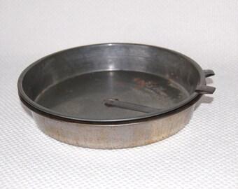 Set of 2 Vintage Bake King STEEL Cake Pans 8 inch Cake Pans with Easy Release Metal Sliders