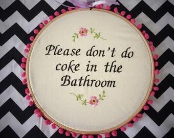 Retro Bathroom Decor Etsy
