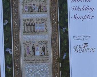 Garden Wedding Sampler - The Victoria Sampler - Chart 126 & Accessory Pack