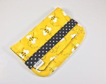 Sanitary Pad Holder Tampon Case Honey Bees