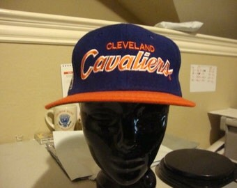 Vintage NBA Cleveland Cavaliers Sports Specialties Scripted rap hip hop 90's Wool Cap Hat