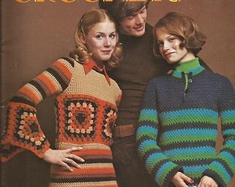 "Vintage Columbia-Minerva ""Carefree Crochets"" Book 779"