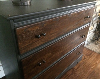 Industrial chest of drawers (dresser)