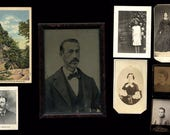 Mixed Vintage Photo Lot - Incl Tom Thumb CDV