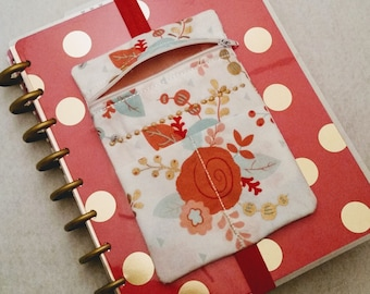 Planner Pen Holder Planner Accessories Journal Accessories Notebook Pen Case Beautifully Embroidered MAMBI Happy Planner Band