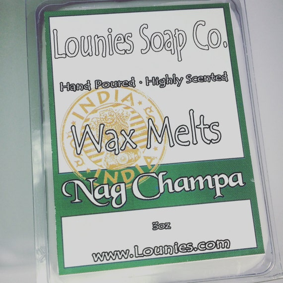 Nag Champa Wax Melt 3oz