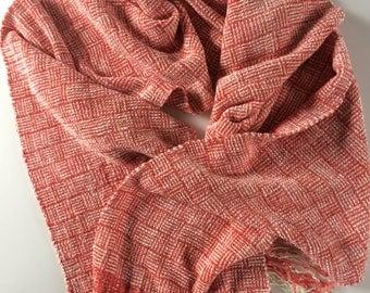 Mango summer scarf. Vegan friendly materials.