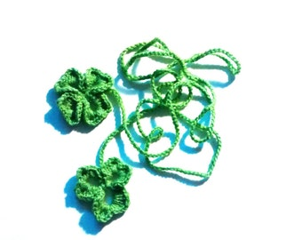 2 Clover Cat Toys Pullies
