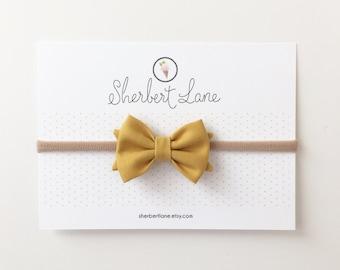 Mini Standard Bow - Mustard